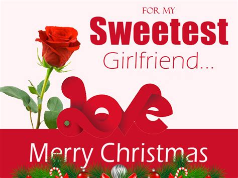 christmas wishes  girlfriend romantic christmas messages