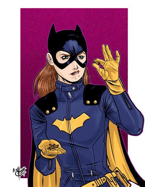 New 52 Batgirl new costume sketchy mcdrawpants