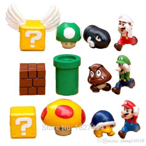 Diskon Figure Mario Bross Luigi 2017 mario bros luigi figures set yoshi