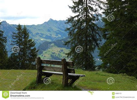 mountain bench mountain bench stock photos image 4080113