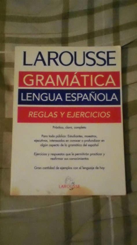 gramatica en contexto libro 8477117160 libro gram 225 tica lengua espa 241 ola reglas y ejercicios