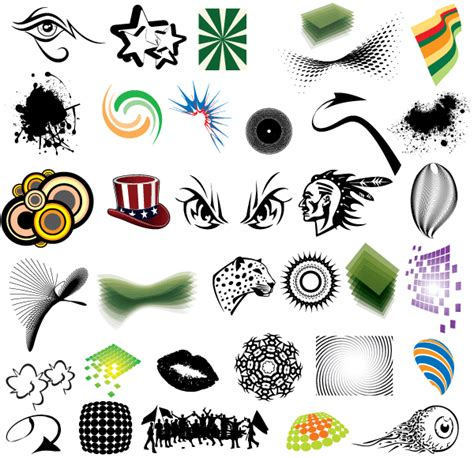 free vector graphics clipart free clip elements vector pack free vector