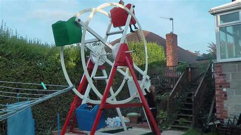 back yard ferris wheel youtube
