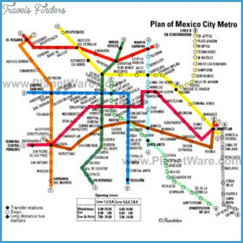 tourist map of mexico mexico city map tourist attractions travelsfinders