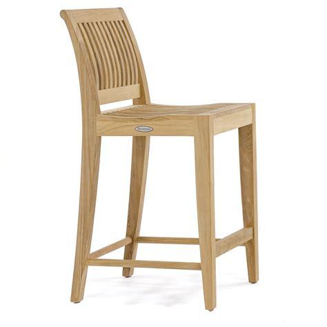 Teak Counter Height Bar Stool laguna premium grade a teak counter height stool
