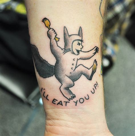 where the wild things are tattoos where the things are living arts new pa