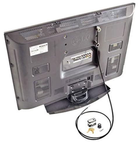 tv lock security kit monitor tv lok flat panel tv security lock kit