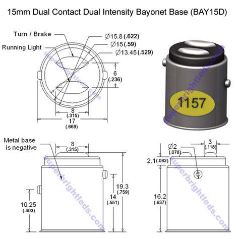 light bulb socket diagram circuit dual contact and intensity bayonet base l