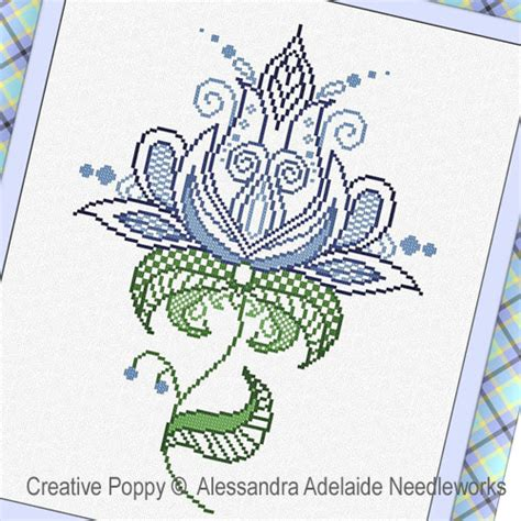 pattern maker adelaide creative poppy printable patterns for cross stitch and