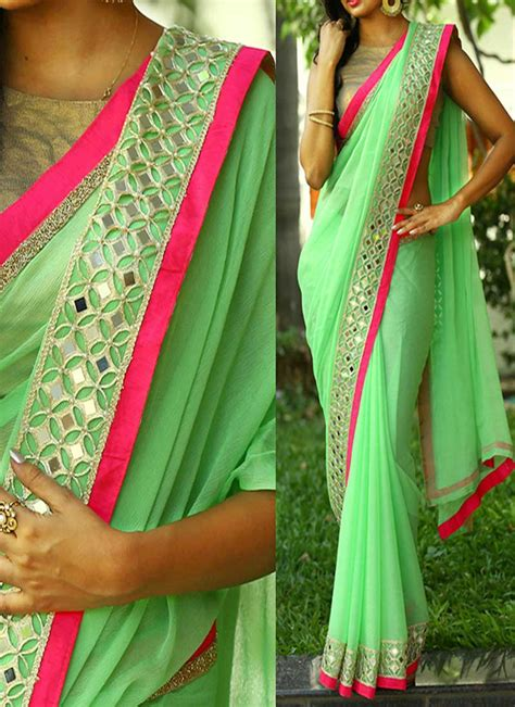 pista colour 28 pista colour pista green colour aari work