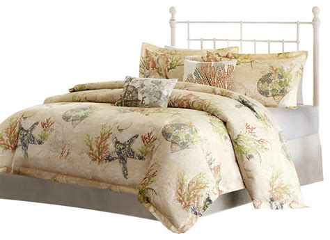beach comforter sets queen jla harbor house summer beach cotton comforter set multi