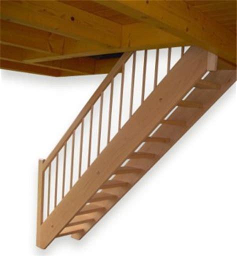 Treppe Ohne Geländer by Holztreppe Buche Gerade Mit Setzstufen Ohne Gel 195 194 164 Nder