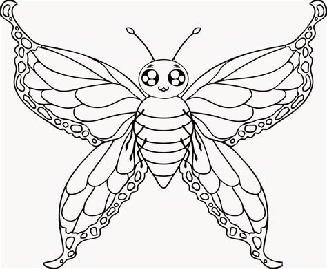 Beautiful Coloring Pages Of Butterflies | beautiful butterfly coloring pages