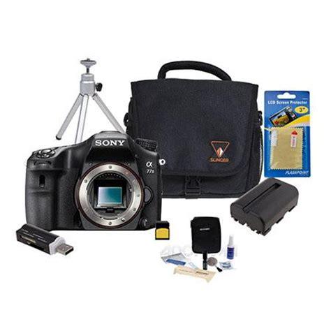 sony alpha 77 mark ii dslr camera w/premium accessory