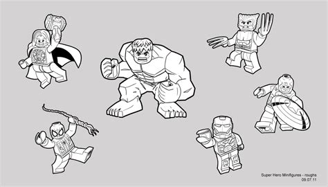 lego marvel super heroes coloring pages all about bricks exclusive interview with steve lettieri