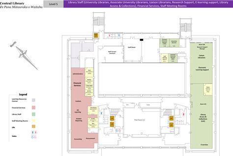university library floor plan floorplans central library library university of