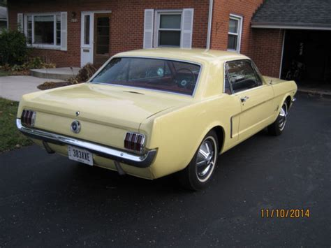 ohio state mustang 1964 1 2 ford mustang coupe for sale in columbus ohio