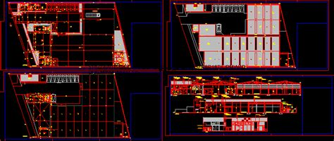 box auto dwg packing box assembly factory in autocad drawing bibliocad