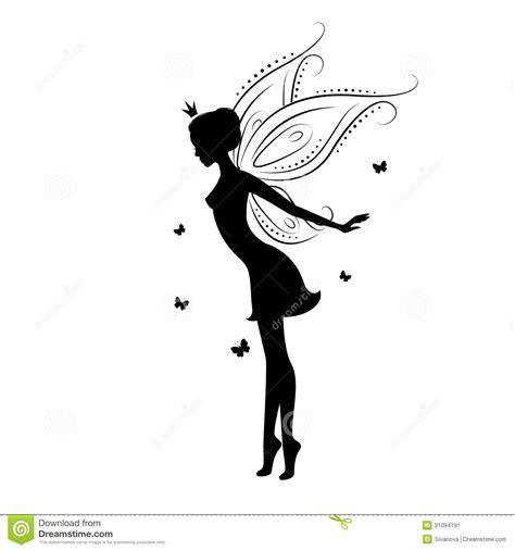 imagenes de hadas en blanco y negro 55 silhouette fairy tattoos collection