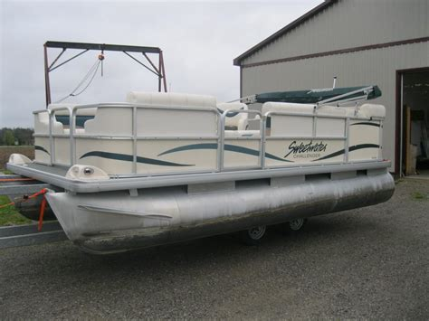 2005 sweetwater pontoon 2005 sweetwater challenger 18 pontoon boat w 50hp 2005