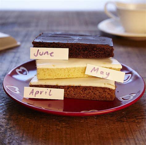 3 slice cake three month wheat free cake slice club by the cake nest