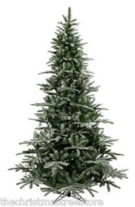 10 foot slim christmas tree 10 ft white flocked downswept layered unlit slim tree not prelit u on popscreen
