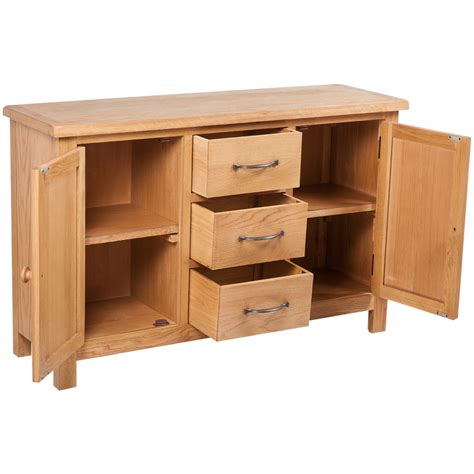 Sideboard Höhe 70 Cm by Vidaxl Co Uk Large Sideboard With 3 Drawers 110 X 33 5 X