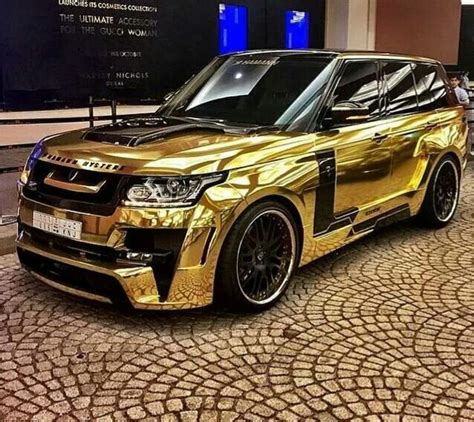 gold chrome range rover pinterest the world s catalog of ideas