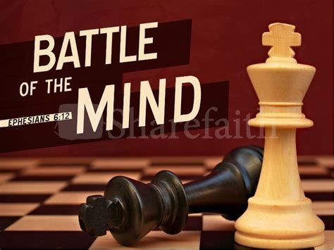 battlefield of the mind the role of the mind in sanctification part 2 the domain for truth