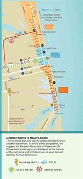 Map Of Virginia Beach Va by Virginia Beach Tourist Map Virginia Beach Mappery