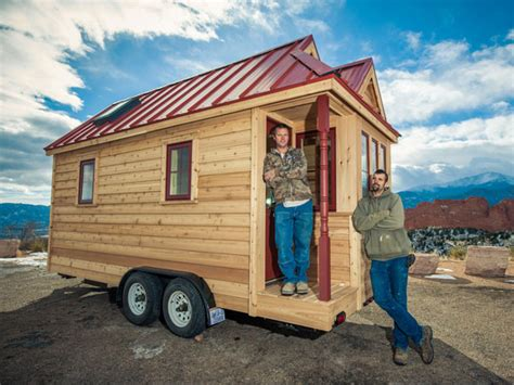 buy used tiny house new tumbleweed fencl tiny house on wheels for sale