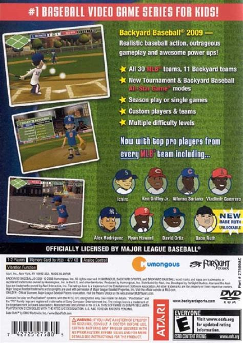 buy backyard baseball backyard baseball 09 sony playstation 2 game