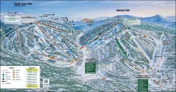 Utah Ski Resorts Map by Ski Resorts In Utah Brian Head Resort 2017 2018 Car