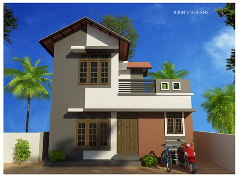 794 sq ft low budget 2 bedroom home design