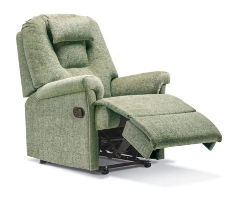 small fabric recliners milburn small fabric recliner sherborne upholstery
