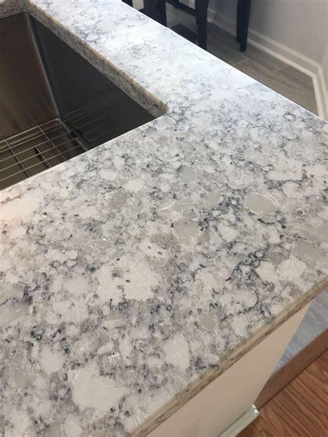 beautiful everest quartz  lg viatera quartz kitchen