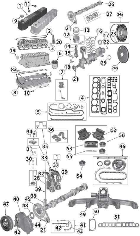 jeep engine replacement 1972 1990 jeep 4 2l 258ci inline 6 cylinder engine