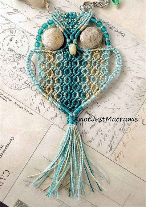 Macrame Knots And Patterns - knot just macrame by sherri stokey and then there were owls