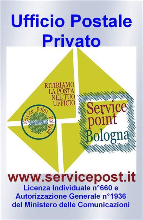 ufficio postale privato service point bologna