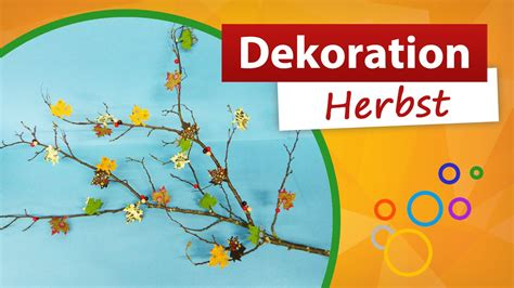 dekoration herbst deko aus zweigen selber basteln - Dekoration Herbst