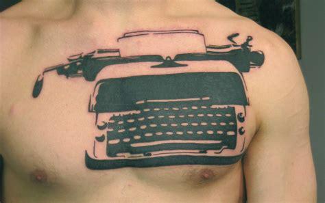 writer tattoos typewriter tattoos sniderwriter