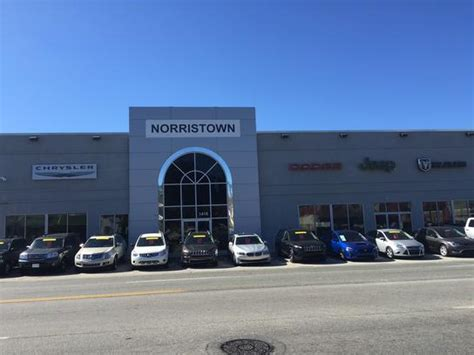 norristown chrysler dodge jeep ram norristown pa 19403