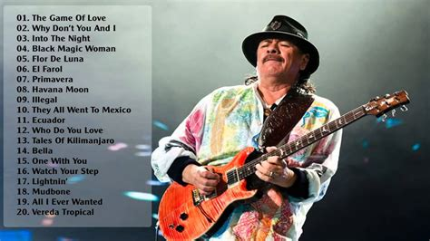 Carlos Santana Takes A Spin On The by I 70 Anni Di Carlos Santana Leggenda Rock