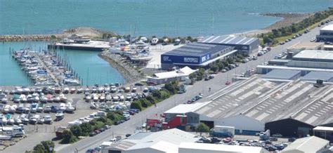 layout boat nz seaview marina boatyard facilities wellington new zealand