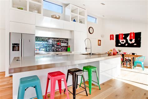 contemporary kitchen stools colorful bar stools kitchen contemporary with angled