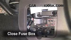 interior fuse box location 2005 2009 ford mustang 2006