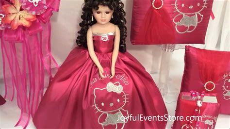 imagenes de kitty con vestido hello kitty special quinceanera package youtube