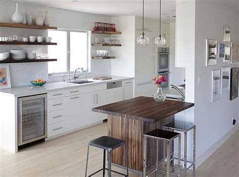 kitchens with bars and islands breakfast bars that make a stylish statement