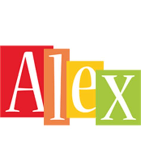 2 Story Home Design Names alex logo name logo generator kiddo i love colors style