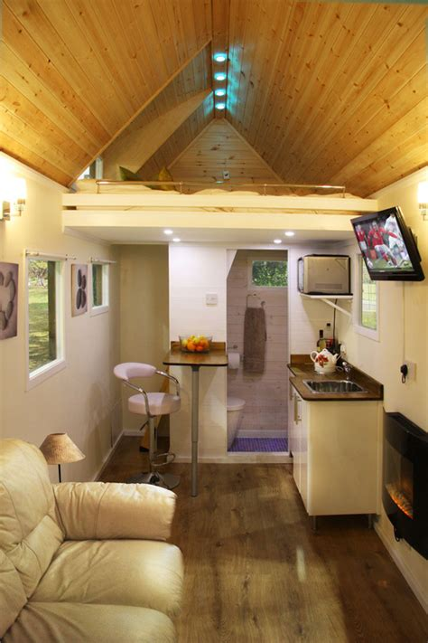 interiors of tiny homes images of tiny houses custom built for clients in the uk